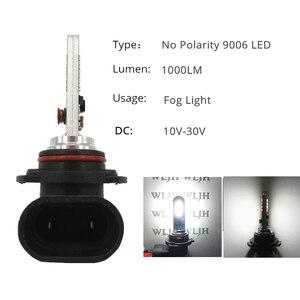 Image 5 - WLJH 2x LED 9006 HB4 デイタイムランニングライト DRL 9006 フォグランプ 10 ボルト 30 ボルト駆動用カローラカムシエナシエナ