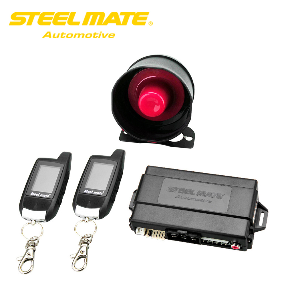 Steelmate Car Alarm System 888E Two Way LCD Car Alarm Auto with Control Central Locking Keyless Entry Security System Starline magicar 903 magicar 902 remote starter two way alarm car alarm system magicar