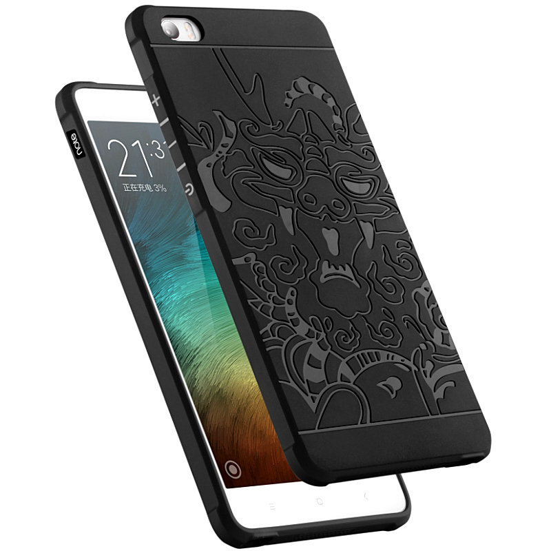 TPU Soft Case for Xiaomi Mi Note Pro MiNote LTE 5.7 Dual 3D Relief silicone Cases Phone Back Cover for Xiao Mi M Note Cases