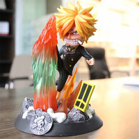 NEW 20cm Anime One Piece Vinsmoke Sanji The wind leg Fighting Ver. PVC Action Figures Collectible model Toys For Children Gift