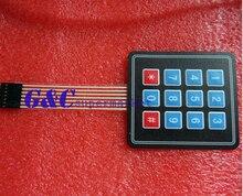 1 ШТ. 4 х 3 Матрица Массив 12 Ключ Мембранный Переключатель Клавиатуры Клавиатура