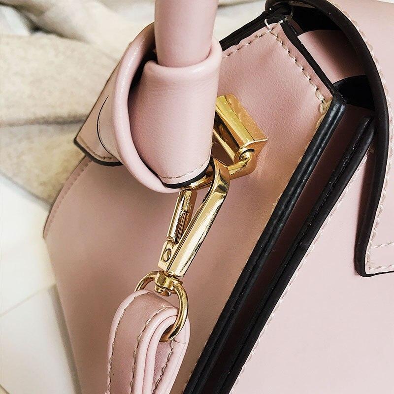 2019 new luxury designer bucket bag small handbag elegant ladies leather shoulder bag ladies French style Messenger bag in Top Handle Bags from Luggage Bags