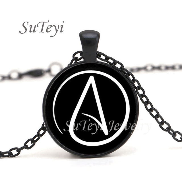 2017 hot arrived atheist atheism symbol silver pewter necklace 2017 hot arrived atheist atheism symbol silver pewter necklace pendant gifts glass necklace pendant sweater chain aloadofball Choice Image
