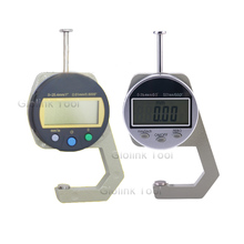 Digital Thickness Gauge 0-25.4mm/ 0.01 Electronic Thickness Gauge For Paper Leather Cloth Wood Board Thickness Measuring Tool