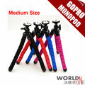 Flexible Medium Size Load-Bearing to 1.2KG Gorillapod Type & Monopod&Tripod Leg Mini Tripods for Digital Camera Holder
