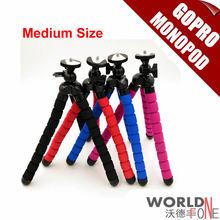 Versatile Medium Measurement Load-Bearing to 1.2KG Gorillapod Kind & Monopod&Tripod Leg Mini Tripods for Digital Digital camera Holder