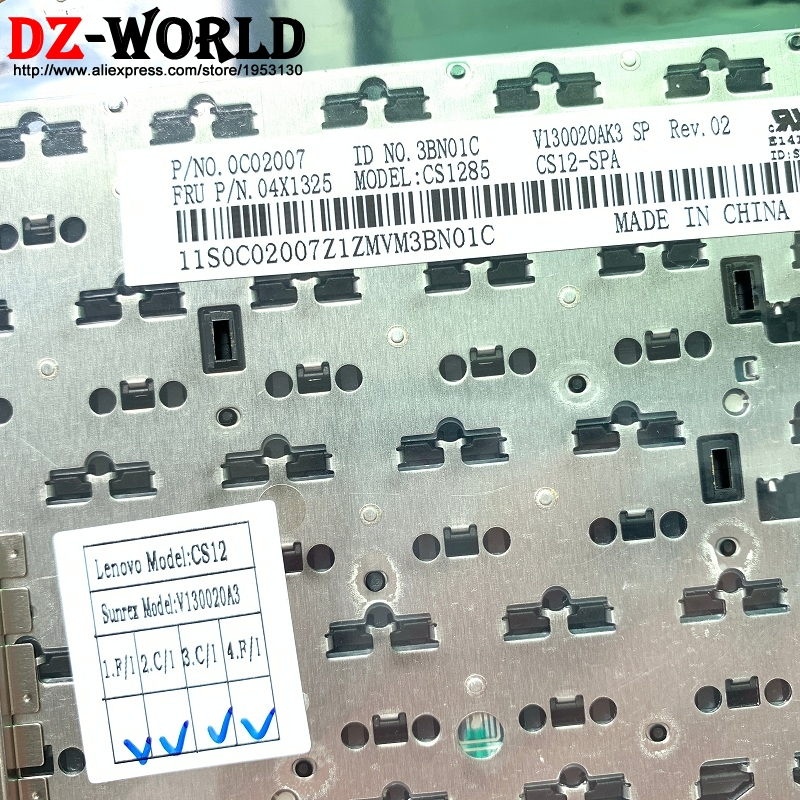 Image 2 - ES SPA Spanish Keyboard for Lenovo Thinkpad L430 L530 T430 T430S X230 T530 W530 X230i X230 Tablet No Backlight Teclado 04X1325-in Replacement Keyboards from Computer & Office on
