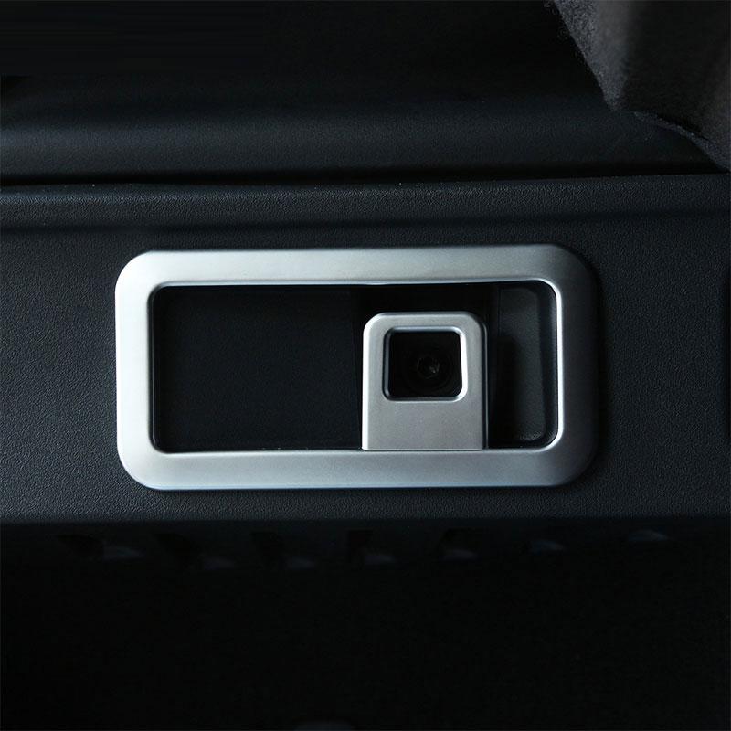 Neu!! Chrome ABS Material Kofferraum Aufbewahrungsbox Haken Trimm-wandaufkleber Für Jaguar F-Tempo f...