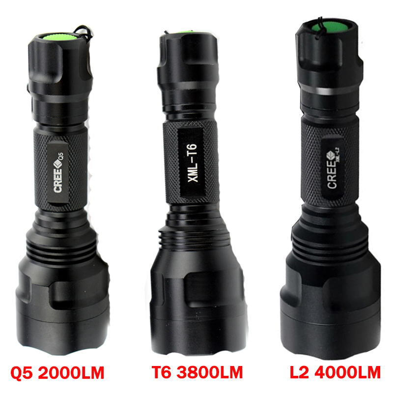 Rechargeable 9000LM Led Flashlight XML T6 XML L2 Waterproof 5 mode 18650 battery tactical hunting camping bicycle flash light sitemap 104 xml