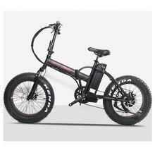 20 электровелосипед с толстыми покрышками 48V500W двигатель bafang складной TFT lcd Электрический e-велосипед расширение зимняя резина езда Велоспорт литиевый аккумулятор для велосипеда