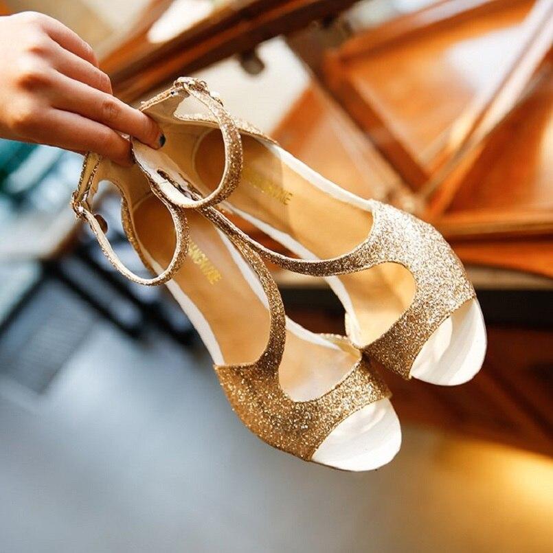 Alta Sandalia Calle Verano Mujeres Moda Zapatos Cuero Cresfimix A Toe C2898 Casual Tacón b Peep Alto Señora De Pu Calidad PtqnxxBZa