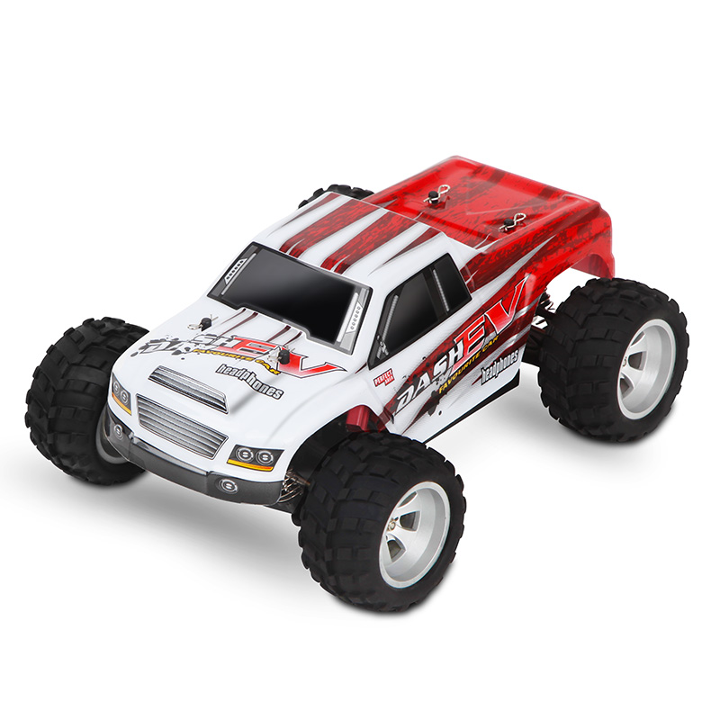 Original Electric RC Car 1:18 4WD High Speed Big Foot Racing Car 70KM/h Rock Rover Remote Control Radio Off Road Toys for Boys