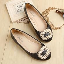 2016 new Fashion woman Ballet flats Casual women shoes flats Crystal Round toe Dress shoes woman size 34-43
