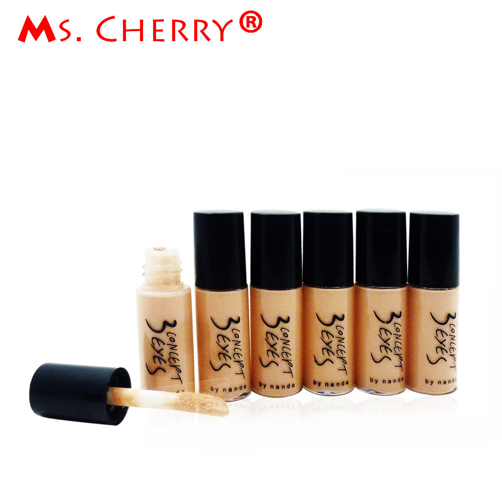 Face Body Foundation Makeup Sample Size 5ML Waterproof Natural Concealer Cream Base Cosmetics Maquiagem Maquillaje MF016