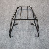 For Yamaha TW225 TW 225 Black High quality metal Motorcycle Rear Luggage Carrier Rack Off road