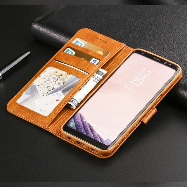 Galaxy S8 Case Wallet Black 4