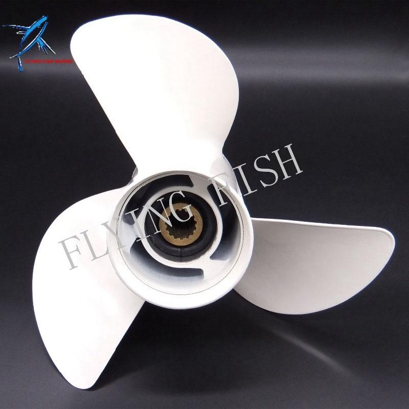 New Aluminum Propeller 13x19-K  For Yamaha 50HP 60HP 70HP 75HP 80HP 85HP 90P 100HP 115HP 130HP 140HP Outboard Motors