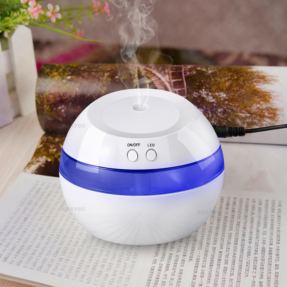 USB Ultrasonic Air Aroma Humidifier Color LED Lights Electric Aromatherapy Essential Oil Aroma Diffuse
