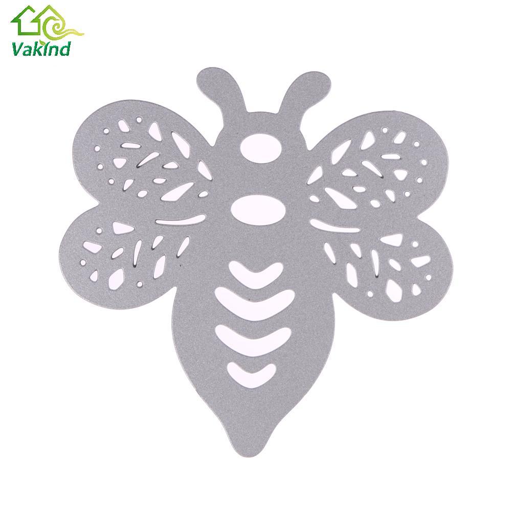 35c689e56b957 Projeto da abelha de Metal Corte Morre Estampagem Template Stencils para  Scrapbooking DIY Cartão De Álbum de fotos Decoração