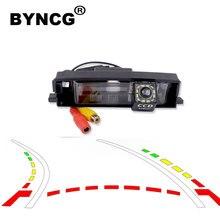 Интеллектуальная динамическая траектория треков камера заднего вида резервная обратная парковочная камера для Toyota RAV4 RAV-4 2000-2012