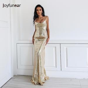 fd91a01c0da0e Joyfunear 2018 Sexy Maxi Dress Women Party Dresses Long