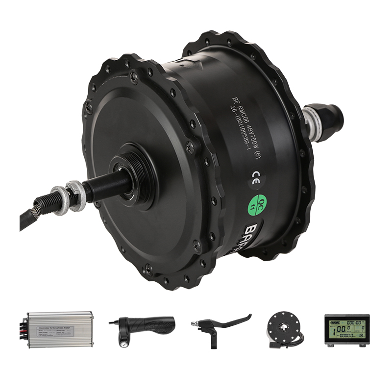 Fat Tire Electric Motor Kit: Rear Hub Motor Kits With Bafang 750W 48V Brushless D Motor