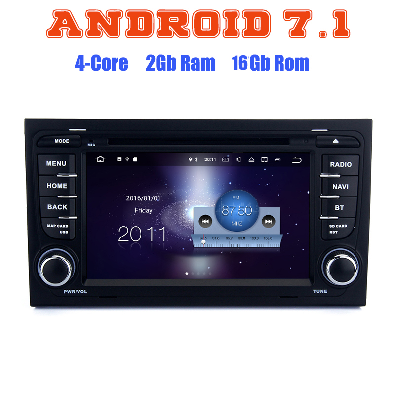Android 7 1 Car Dvd Gps Player For Audi A4 S4 RS4 With Quad Core