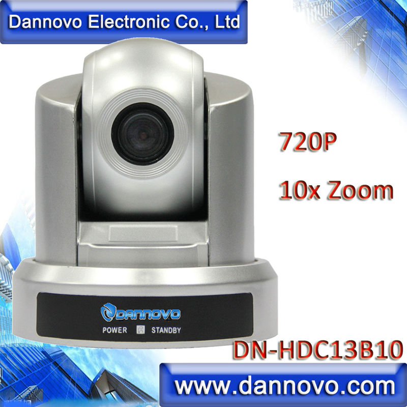 Free Shipping DANNOVO HD USB PTZ Camera for Web Conferencing, 10x Optical Zoom 720P(DN-HDC13B10) web page