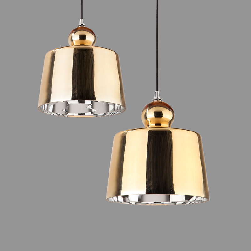 Glass LED chandelier round lampshade simple creative coffee clothing store restaurant Nordic single head modern bar art lighting nordic led modern simple pendant light creative bar restaurant hotel coffee tube cylindrical cone black single head drolight