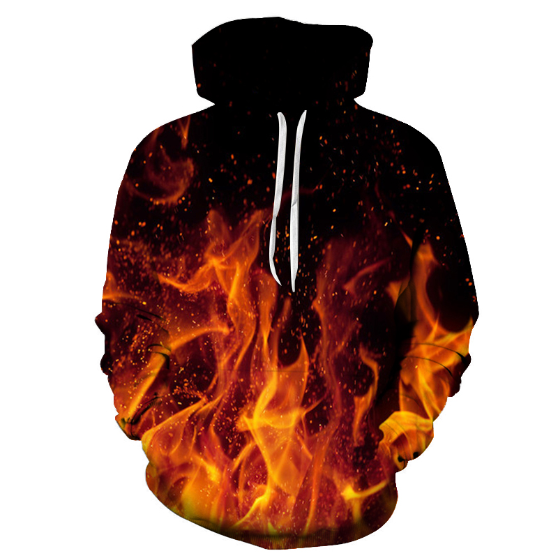 Natural scenery Hoodies Men fashion Sweatshirts 3D Printed Funny Pullover Unisex Plus Size 4xl Tracksuit new 2018 ZOOTOP BEAR ...
