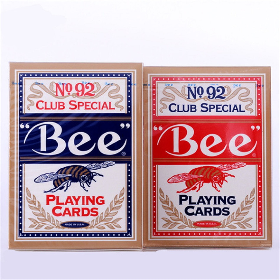 2 Decks Genuine BEE Playing Cards No 92 Magic Cards Club Special Bee Poker Cards