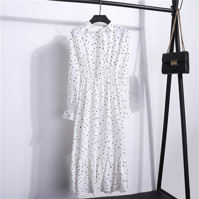 Floral Long Sleeve Dress 2