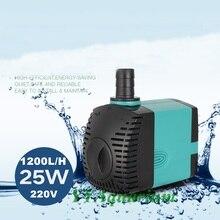 Aquarium Submersible Water Pump 220V Fish Ponds Marine Fountain Irrigation Ultra Quite Pumps 25W 1200L H