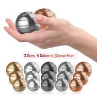 Giroscopio esférico giratorio para dedo, Bola de sobremesa giratoria de descompresión para dedo