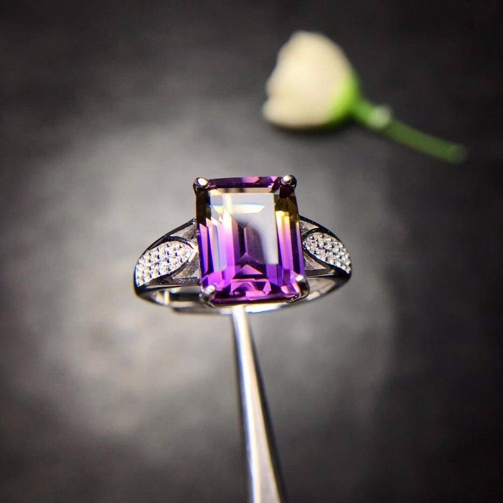 HTB16L3Ha.rrK1RkSne1q6ArVVXaj - Natural Amethyst Rectangle Rings for Women 925 Sterling Silver Fine Jewelry