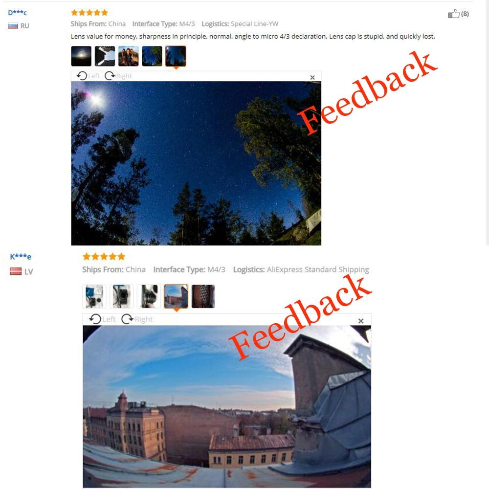 8mm Brandpuntsafstand F3.8 Fish-eye CCTV Lenskleur voor Micro Four - Camera en foto - Foto 2