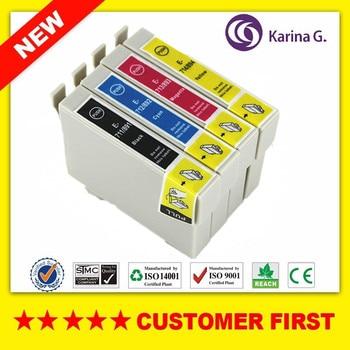Compatible for T0711 T0711-T0714 Ink Cartridge suit For Epson Stylus D78 D92 D120 DX4000 DX4050 DX4400 DX4450 DX5000 etc. фото