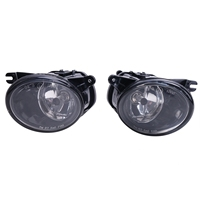 1 Pair Front Driving Lamps Fog Lights For Audi A6 C5 S6 Quattro 2002 2005 //