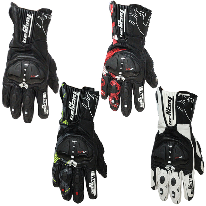 Furygan AFS 19 Genuine Leather full finger carbon motorcycle gloves motorbike gloves