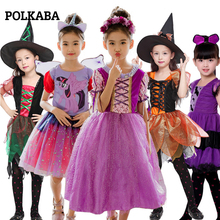 Halloween Pumpkin Costume for Kids Spiderman Baby Snow White Dress Mickey Mouse Hulk Unicorn
