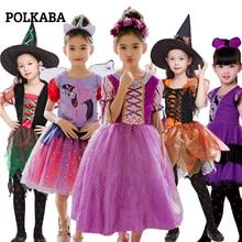 Halloween Pumpkin Costume for Kids Spiderman Baby Snow White Dress Mickey Mouse Hulk Unicorn