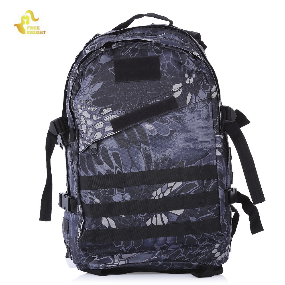 FREEKNIGHT 40L 3D Outdoor Sport Backpack Military Tactical Climbing Mountaineering Rucksack Camping Hiking Knapsack Sport Bag