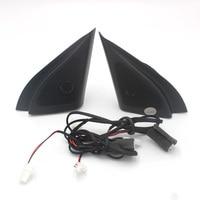 For Hyundai ix25 CRETA speakers tweeter car styling Audio trumpet head speaker ABS material triangle speakers tweeter
