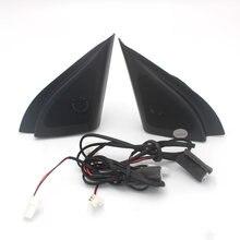 Altavoz principal de trompeta para coche, material ABS, triangular, tweeter, para Hyundai ix25 CRETA