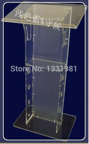 Pulpit Furniture Free Shipping Modern Design Cheap Transparent Acrylic Lectern Acrylic Pulpit