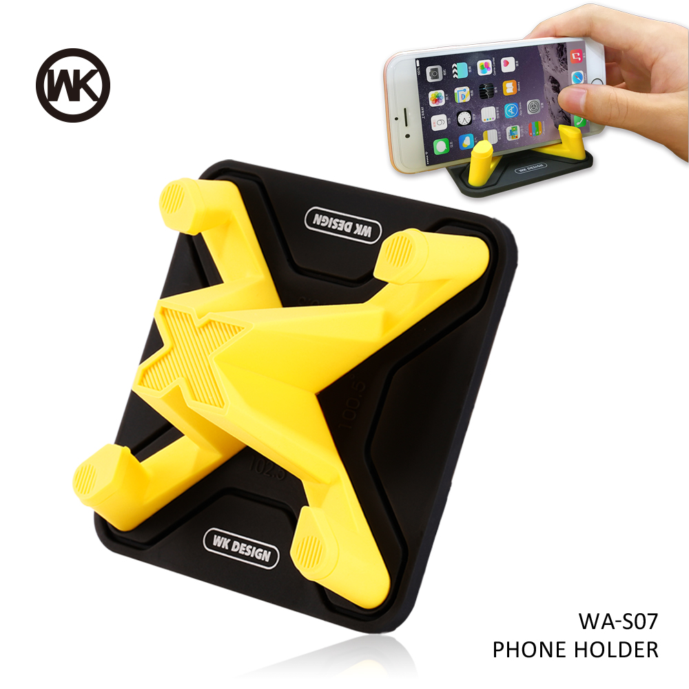 WK DESIGN Universal Car Phone Holder Mobile Phone Stand Support Smartphone Voiture Phone Car Holder For iPhone X 7 8 Plus Note 8 smartphone
