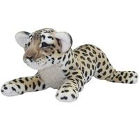 simulation prone leopard large 60cm plush toy soft pillow Christmas gift b0099