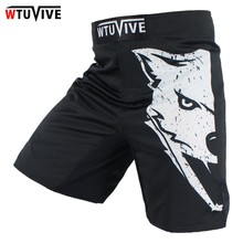 red and black MMA Fighting Glory sports fitness breathable Tiger Muay Thai boxing shorts boxing clothing