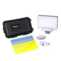 Hot sale Mini LED camera video photo light studio Rechargeable Pocket for Canon video camera studio lights video photo video