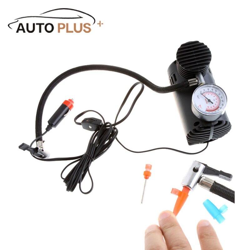 Professional Portable Car Auto DC 12V Electric Air Compressor Tire Inflator 300PSI Automobile Emergency Air Pump